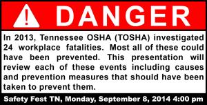 TOSHA Investigations 2013